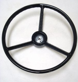 1956 1960 Ford Pickup Truck Gloss Black Steering Wheel