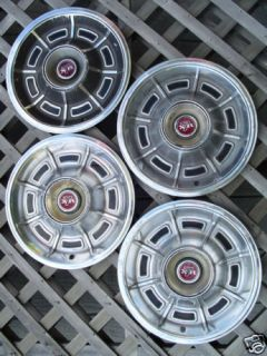 Mercury Cougar XR7 Hubcaps Wheel Covers Center Caps