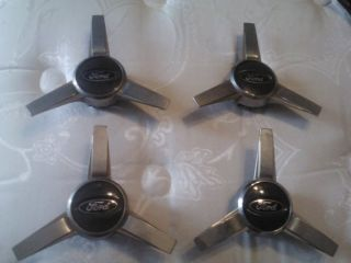 Ford Wheel Center Cap Hubcap Spinner Set of 4