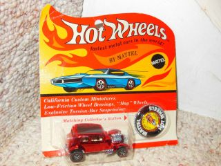 OLD HOT WHEELS RED LINE 32 FORD VICKY DIECAST CAR MINT BLISTER PACK