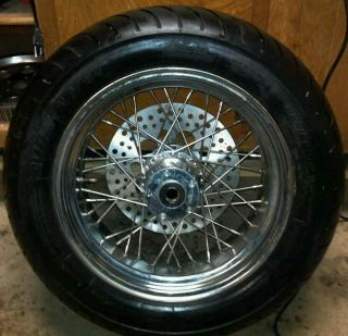 Harley Rear Rim Tire 200