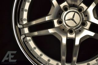 Mercedes SL63 SL65 CLS550 Wheels Rims and Tires RW2 Silver CL