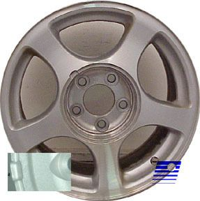 Ford Mustang 16 x 7 5 Factory 5 Spoke Polished Wheel Rim 3549