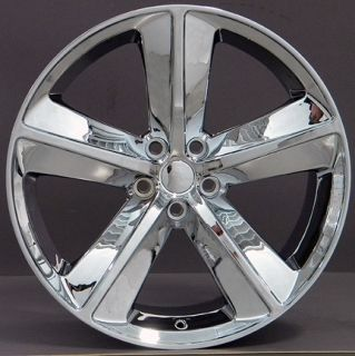 Challenger SRT Replica Wheels Rims Chrome 20x9 Fits 300 Charger