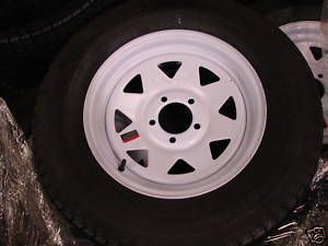 15 Utility Boat Trailer Wheel Tire New Spoke 5 Lug 225R