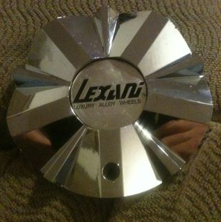 One Used Lexani Luxury Alloy Wheels Chrome Wheel Center Cap AT212