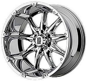 American Racing 77989063212N Badlands Series XD779 Chrome Wheel