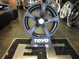 19 Axis Elite Wheels Rims Matte Black VW Audi Mercedes