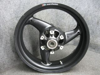 09 Ducati Monster 696 Marchesini Rear Rim Wheel R4