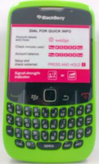 Green Black Blackberry Curve 8520 Gemini Unlocked Quad GSM WiFi GPS