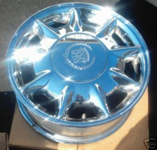 16 96 97 Cadillac Seville Chrome Wheel Rims Rim