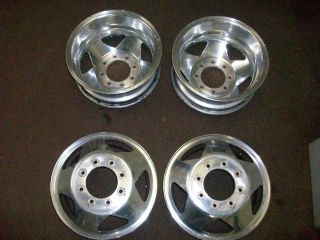F350 Super Duty Dual Dually Aluminum Wheel Rim Alloy 16 Inch