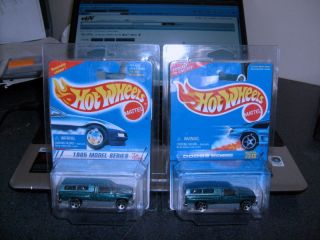 1995 Hot Wheels 348 Dodge RAM 1500 5 Hole Rims 2 Truck
