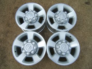 Dodge Ram 2500 3500 Rims 8 Lug 17 OEM Alloy Wheels Mega Cab Big Horn
