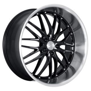 19 MRR GT1 Black Wheels Rims Fit Lexus ES GS RX LS SC300 sc400 SC430