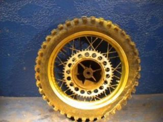 1980 Husqvarna 390CR 390 Rear Rim Wheel