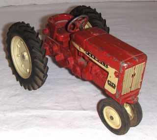 Ertl International 404 Farm Toy Tractor with White Plastic Rims