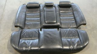 1998 2005 Lexus GS400 GS300 GS430 Black Leather Rear Seats Seat Back