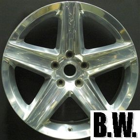 JEEP GRAND CHEROKEE SRT 8 20 POLISHED REAR WHEEL OEM FACTORY RIM 9083