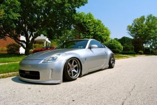 VARRSTOEN ES222 5X114.3 +12 HYPER BLACK WHEELS FIT NISSAN 350Z 370Z