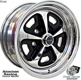 AMERICAN RACING MAGNUM VN500 WHEELS IN STOCK FORD MUSTANG 1971 1972