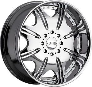 Condo 8 Lug 8x6 5 Chrome One Single 10 Replacement Wheel Rim
