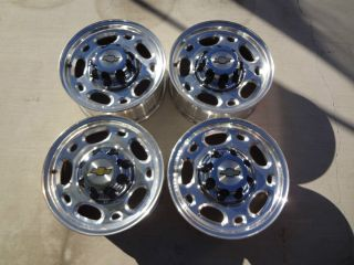 16 8 LUG OEM RIMS WHEELS 2001 10 CHEVY SILVERADO GMC SIERRA LUG NUTS