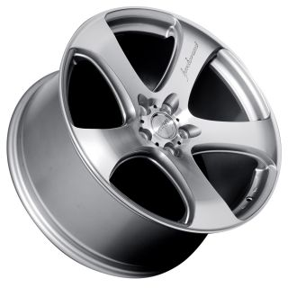 19 MRR HR2 Style Silver Wheels Rims Fit Lexus ES GS LS RX300 SC300