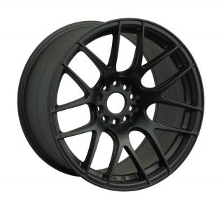 15 XXR 530 BLACK RIMS WHEELS 15x8.25 +0 4x100 MAZDA MIATA SCION XB XA