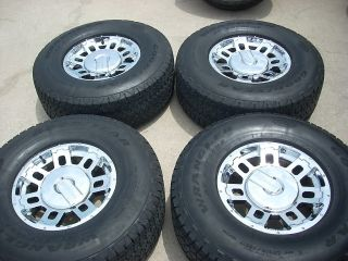 17 Chrome Hummer H2 Wheels Tires Rims
