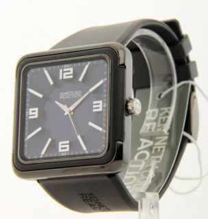 Mens Kenneth Cole Reaction Rubber New Watch RK1239