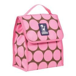 Wildkin Munch N Lunch Bag Big Dots Hot Pink