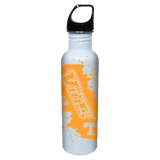 NCAA Tennessee Volunteers Water Bottle   White/Orange (26 oz.)
