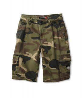 Quiksilver Kids Sue Fley Camo Walkshort Boys Shorts (Green)