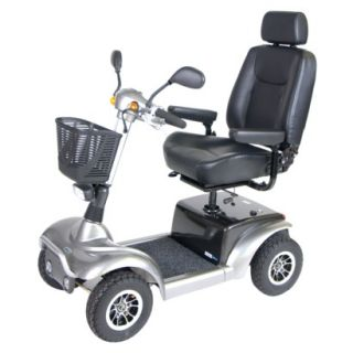 Prowler 3410 4 Wheel Full Size Scooter   22 Captains Seat, Metallic Gray