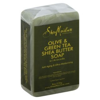 SheaMoisture Olive & Green Tea Shea Butter Soap   8 oz