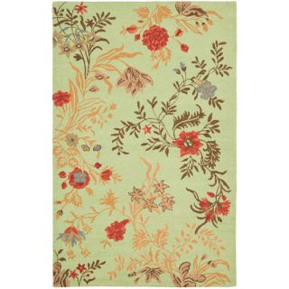 Safavieh Blossom Light Green/Multi Rug BLM919A