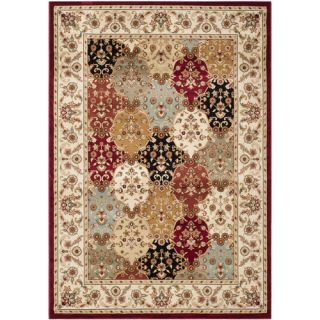 Safavieh Majesty Red / Creme Traditional Rug MAJ4896 4011 5 Rug Size 53 x
