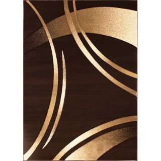 Segma Reflections Dark Brown Rug RE 3860 5X8/RE 3860 2X3 Rug Size 5 x 8