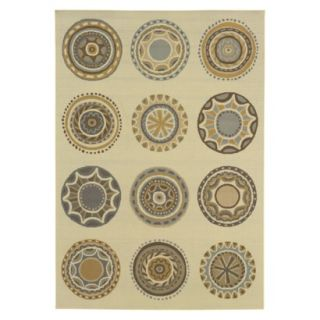Jodi Medallion Indoor/Outdoor Accent Rug (37x56)