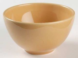 Pottery Barn Sophia Yellow Coupe Cereal Bowl, Fine China Dinnerware   All Yellow