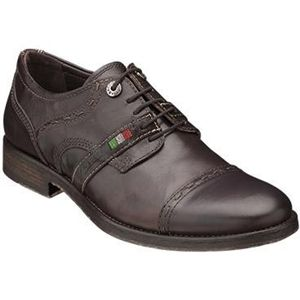 Bacco Bucci Mens Brancato Dark Brown Shoes   2247 87 202
