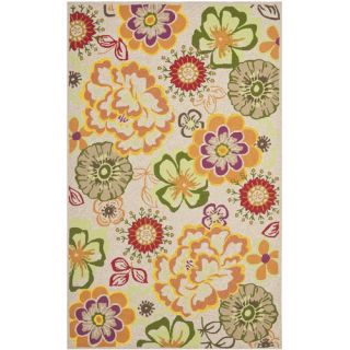 Safavieh Four Seasons Ivory / Green Rug FRS467C Rug Size 26 x 4