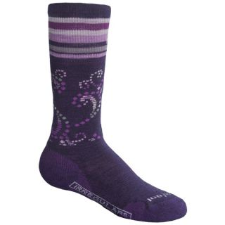 SmartWool Ski Racer Socks   Merino Wool (For Girls)   ARCTIC BLUE (S )