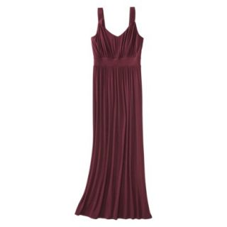 Merona Petites Sleeveless Maxi Dress   Berry XLP