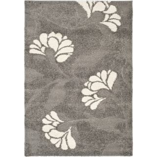 Safavieh Florida Shag Light Gray Rug SG459 8013 Rug Size 53 x 76