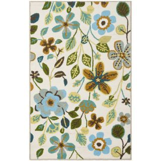 Safavieh Four Seasons Ivory / Multi Rug FRS429A Rug Size 23 x 6