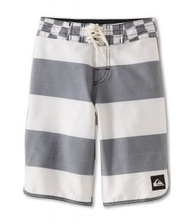 Quiksilver Kids Brigg Scallop Boardshort Boys Swimwear (White)