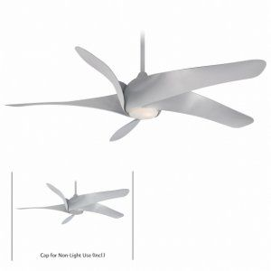 Minka Aire MAI F905 SL Artemis XL5 62 5 Blade Ceiling Fan with Etched Opal Glas