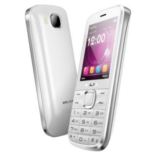 BLU Diva T272T Unlocked GSM Dual SIM Cell Phone   White